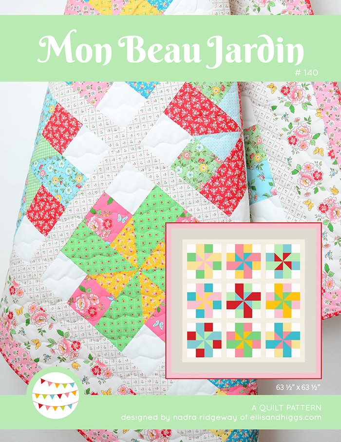 Mon Beau Jardin Quilt Pattern