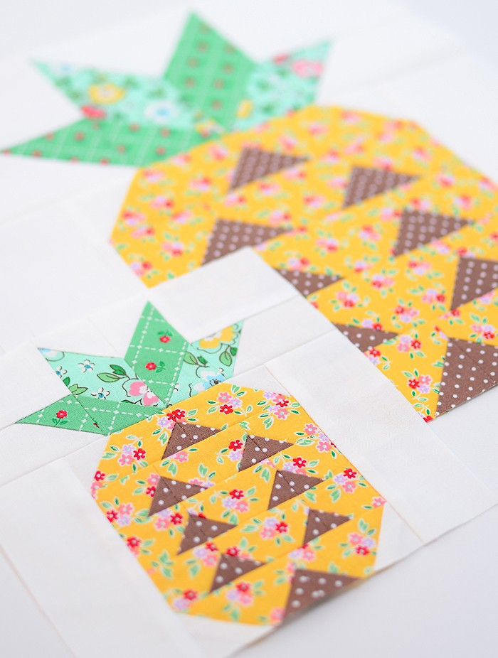 Pineapple Quilt Block Pattern by Nadra Ridgeway of ellis & higgs