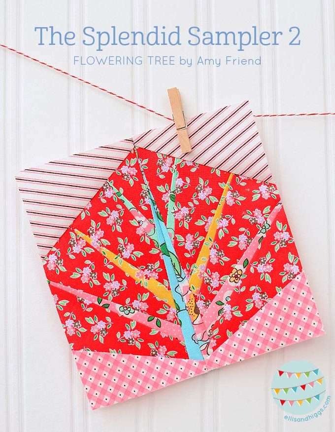 The Splendid Sampler 2 Flowering Tree Amy Friend