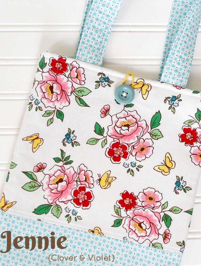 Mon Beau Jardin Blog Tour - Tote Bags by Jennie of Clover & Violet