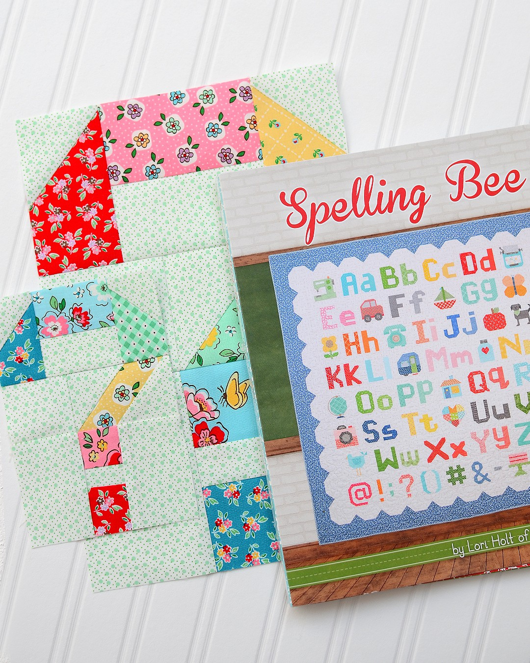 Spelling Bee Sew Along Question Mark Quilt Block by Nadra Ridgeway of ellis & higgs