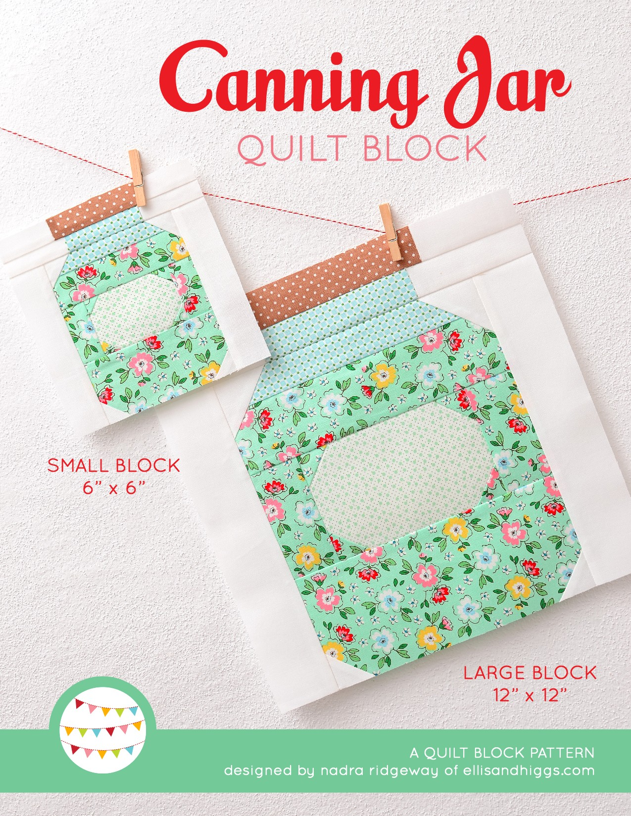 New Fall Quilt Block Patterns by Nadra Ridgeway of ellis & higgs