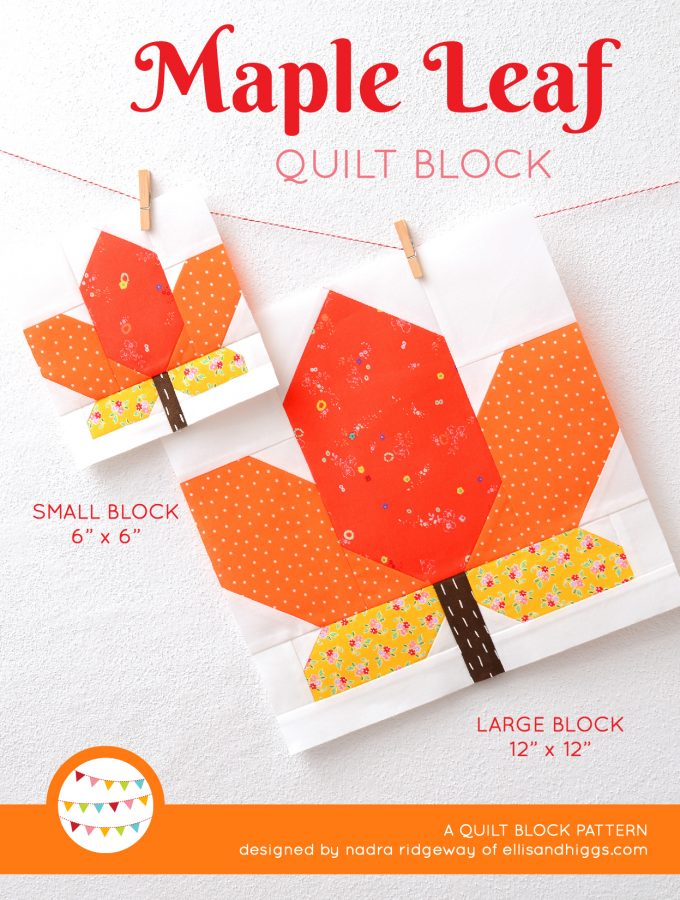 New Fall Quilt Patterns by Nadra Ridgeway of ellis & higgs