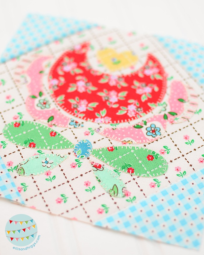 The Splendid Sampler 2 Flower Child by Carolee McMullin