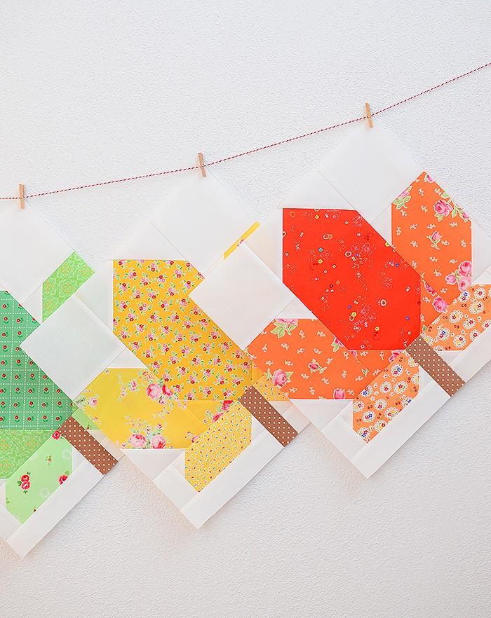 Fall Sampler Quilt Sew Along - Maple Leaf Quilt Block