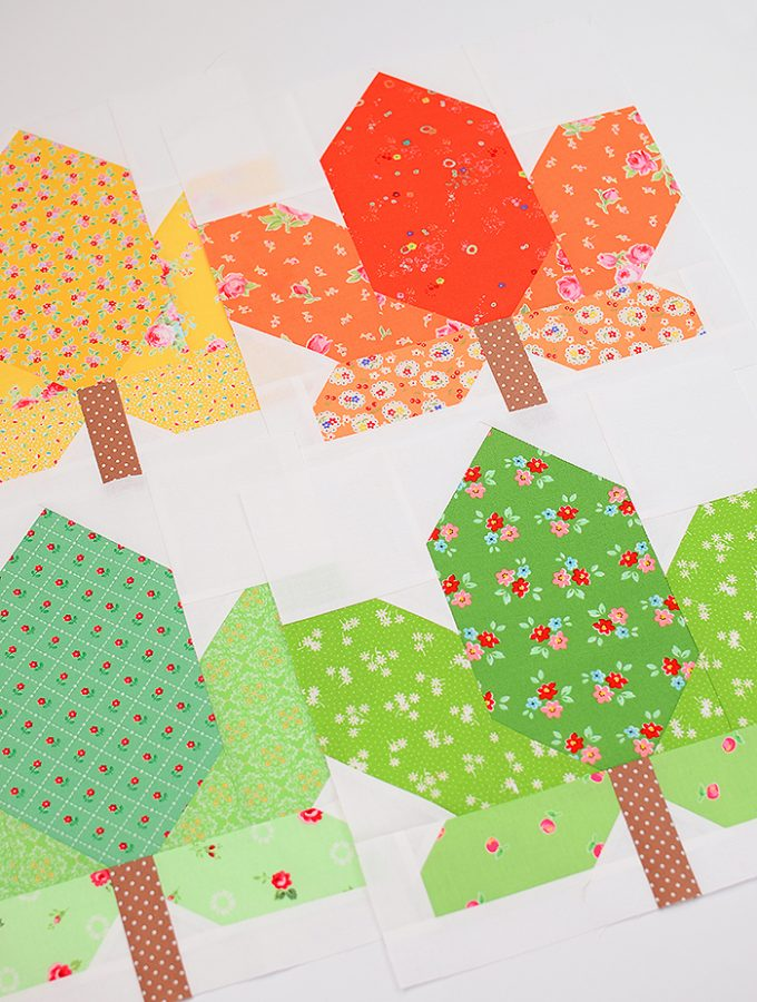 Fall Sampler Quilt Sew Along - Maple Leaf Quilt Block