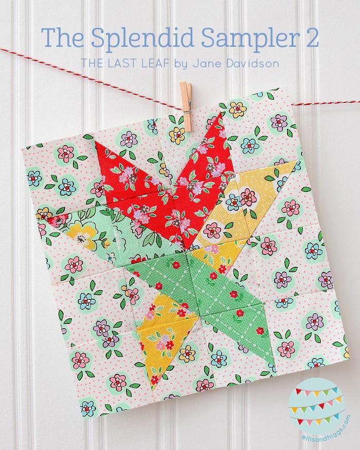 The Splendid Sampler 2 The Last Leaf by Jane Davidson