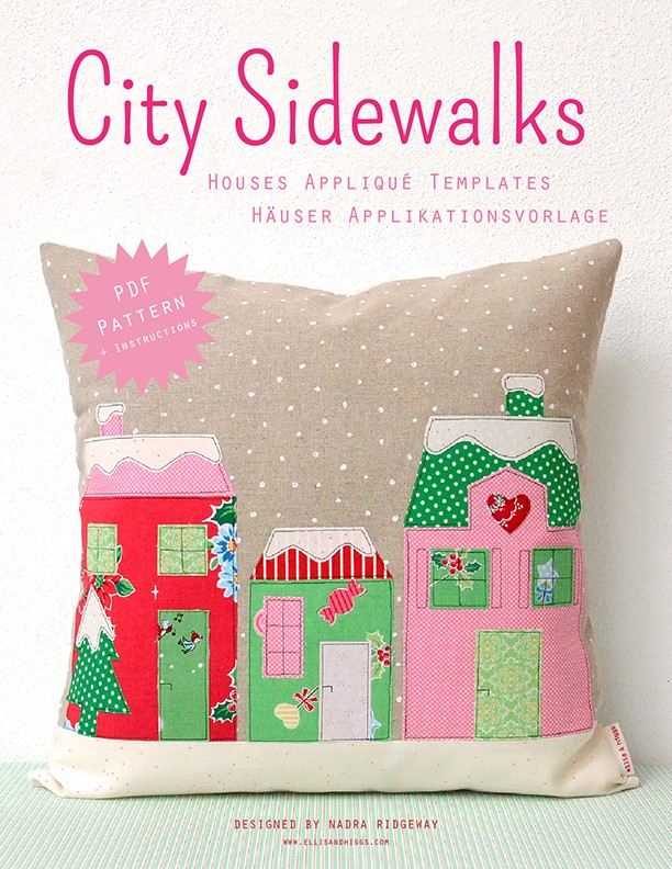 City Sidewalks Christmas Quilt Pattern