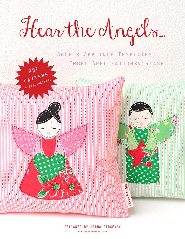 Hear the Angels Christmas Quilt Pattern