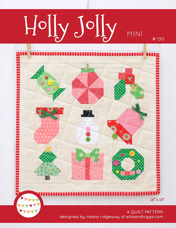 Holly Jolly Christmas Quilt Pattern