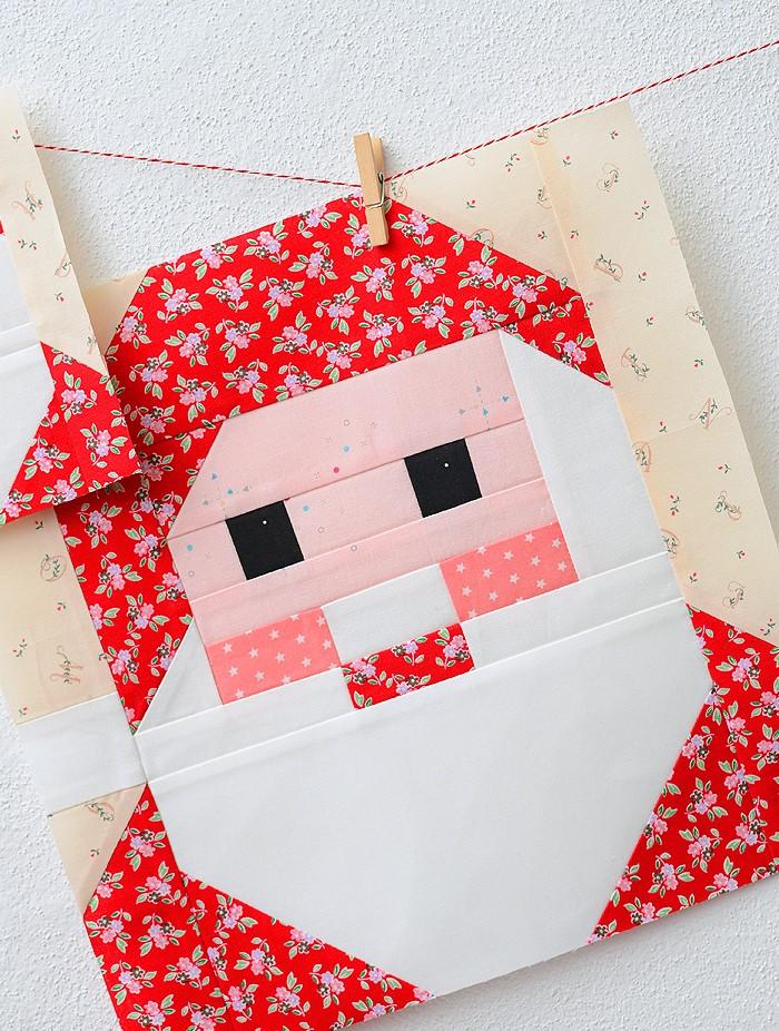 Santa ClausSanta Claus Quilt Block Pattern - Christmas Quilt Pattern Quilt Block Pattern - Christmas Quilt Pattern 2