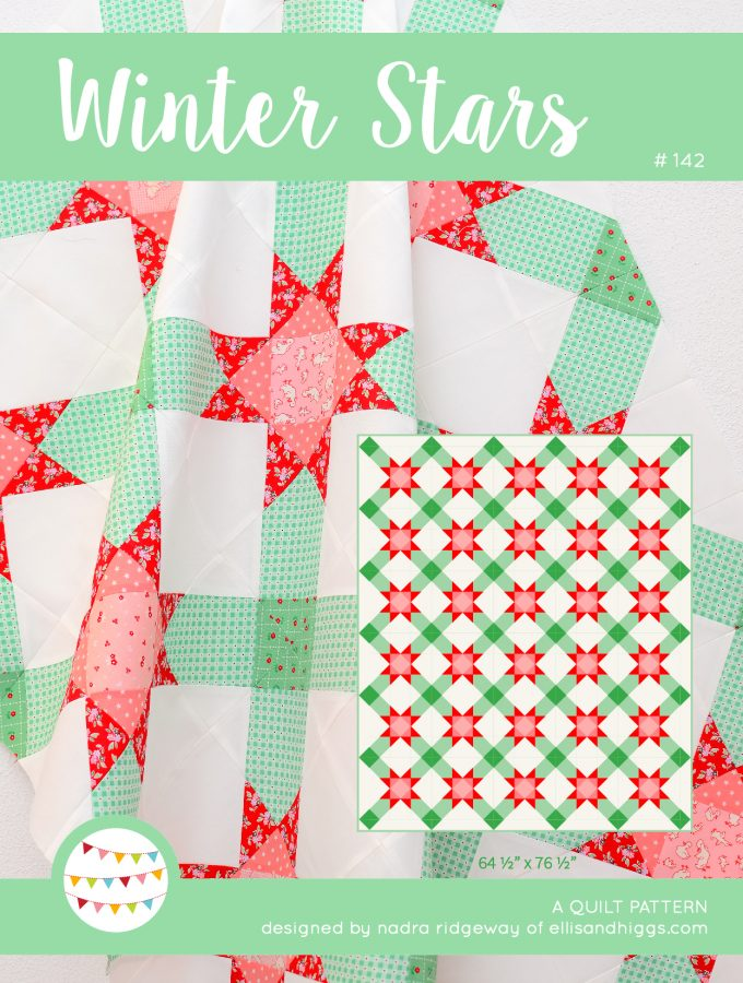 Winter Stars Christmas Quilt Pattern