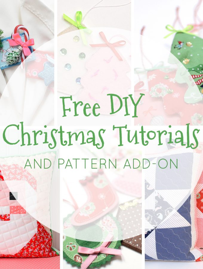 Free DIY Christmas Tutorials - Round up