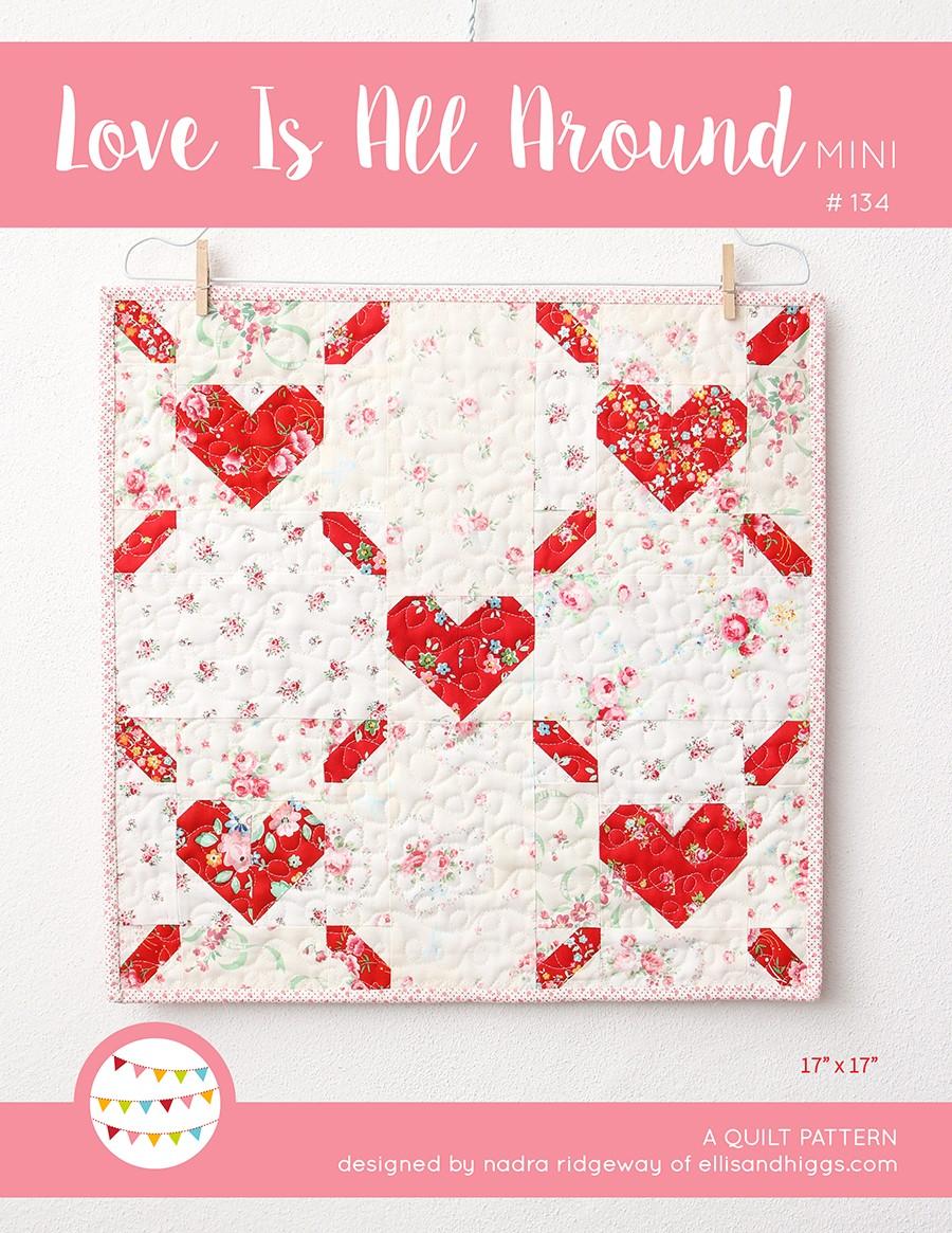 Valentine's Day Heart Quilt Pattern
