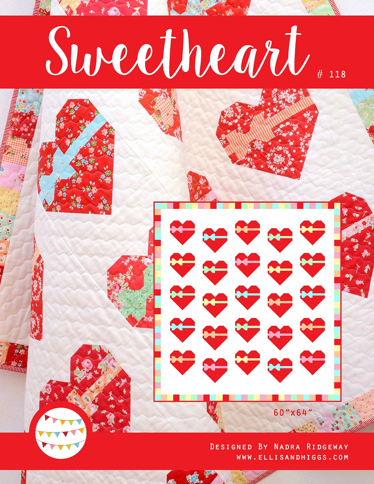 Valentine's Day Heart Quilt Pattern
