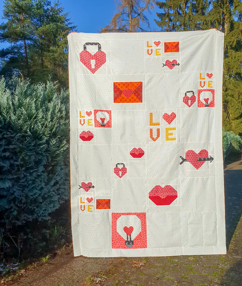 Valentines Day Quilt Block Patterns