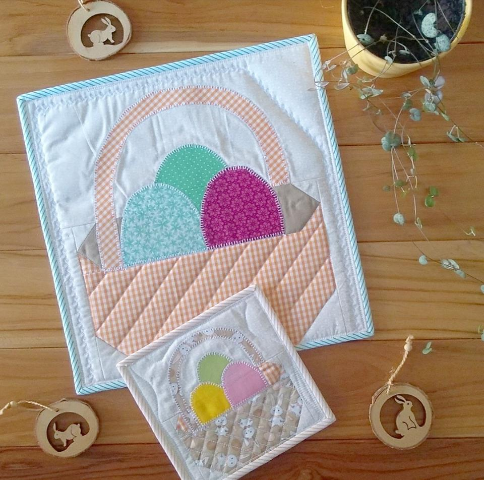 Easter Basket Quilt Block - Easter Quilt Patterns