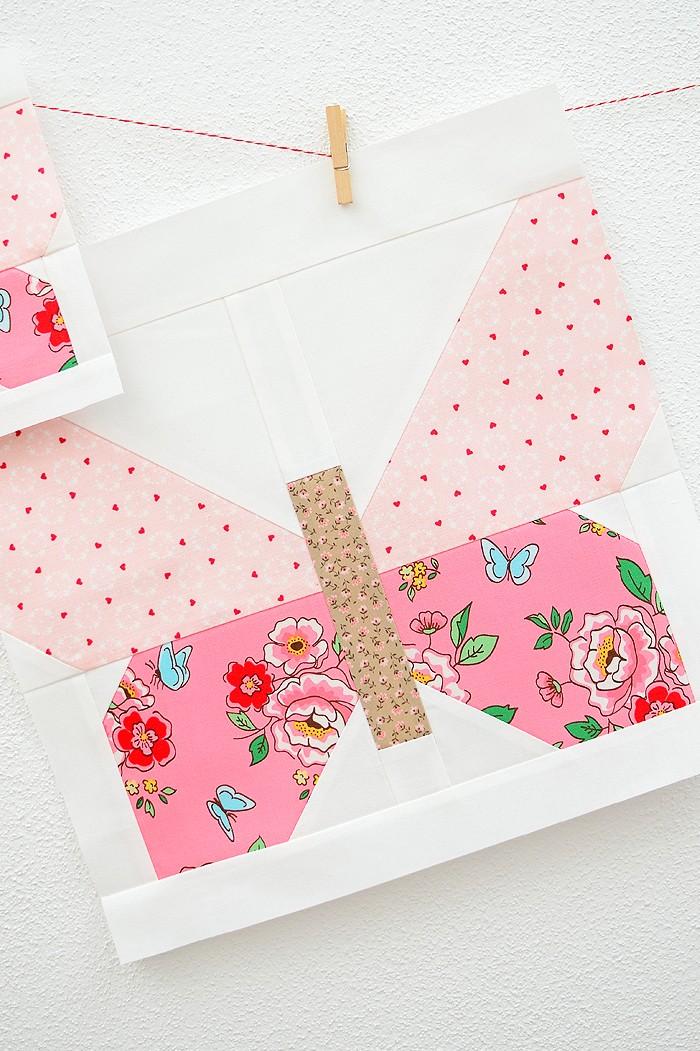 Butterfly Quilt Block - Easter Quilt Pattern
