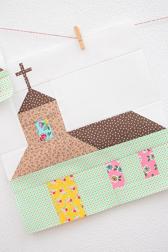 Church Quilt Block - Easter Quilt Pattern