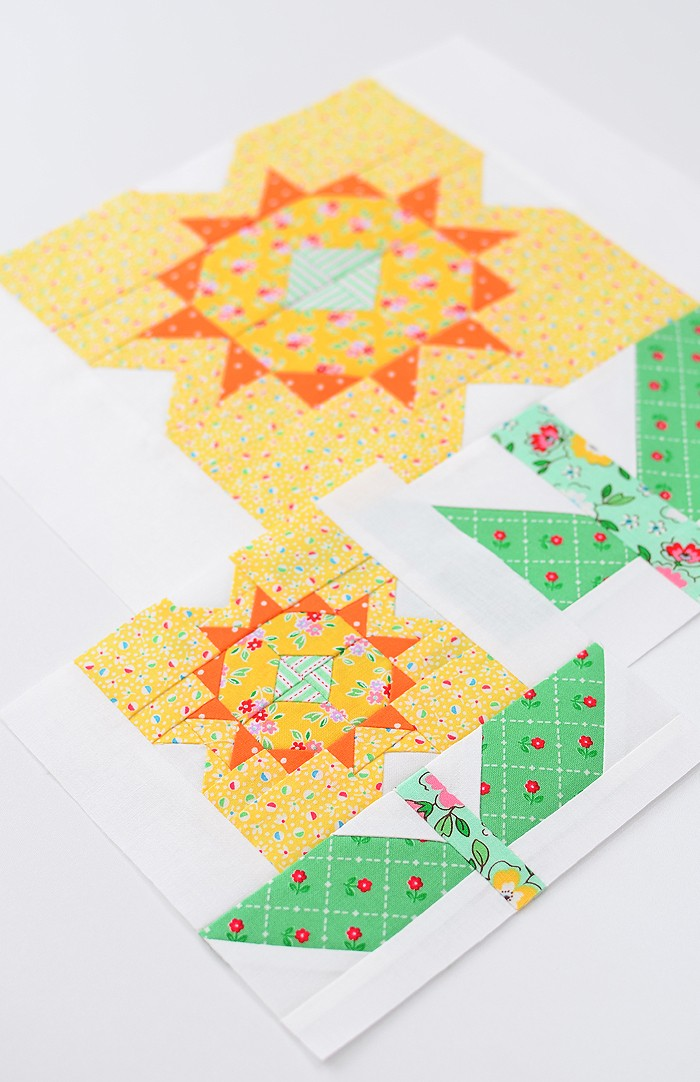 Daffodil Quilt Block - Easter Quilt Pattern