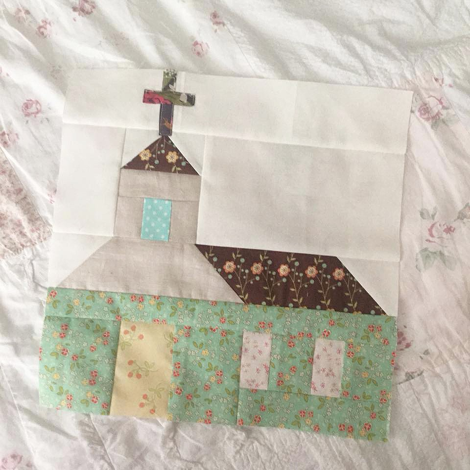 Church Quilt Block - Easter Quilt Patterns