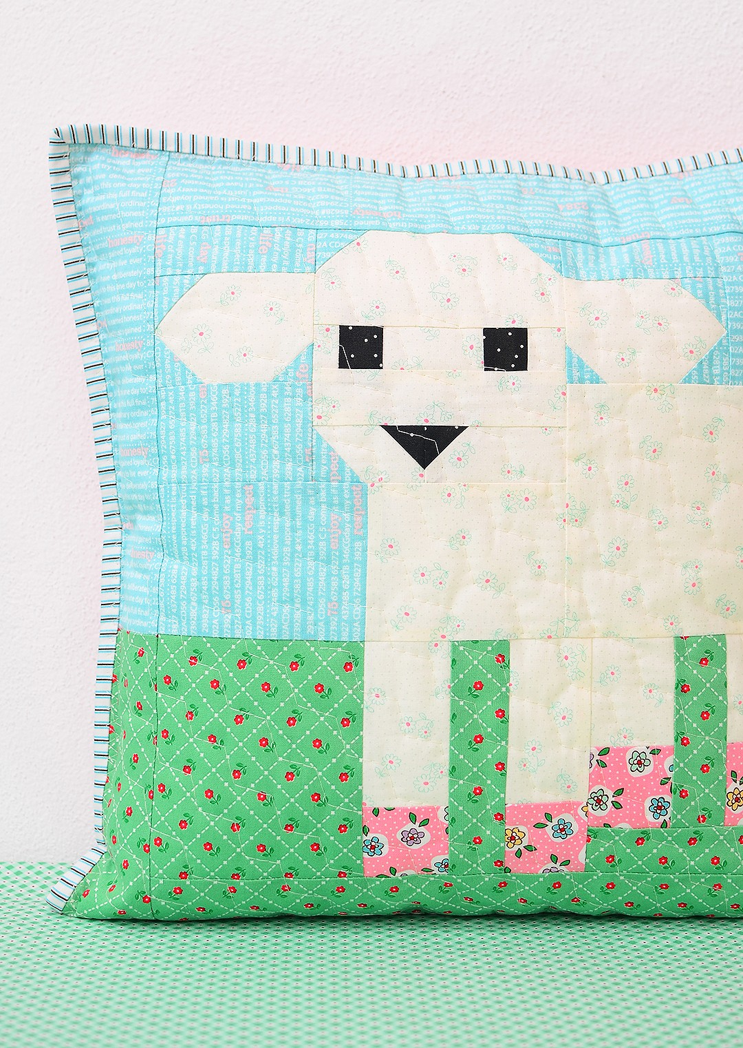 Little Lamb Pillow Tutorial - Easter Quilt Pattern