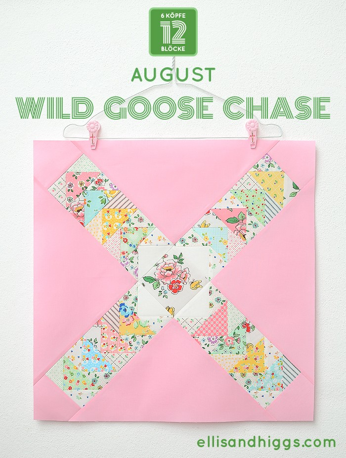 Wild Goose Chase Quilt Block Tutorial