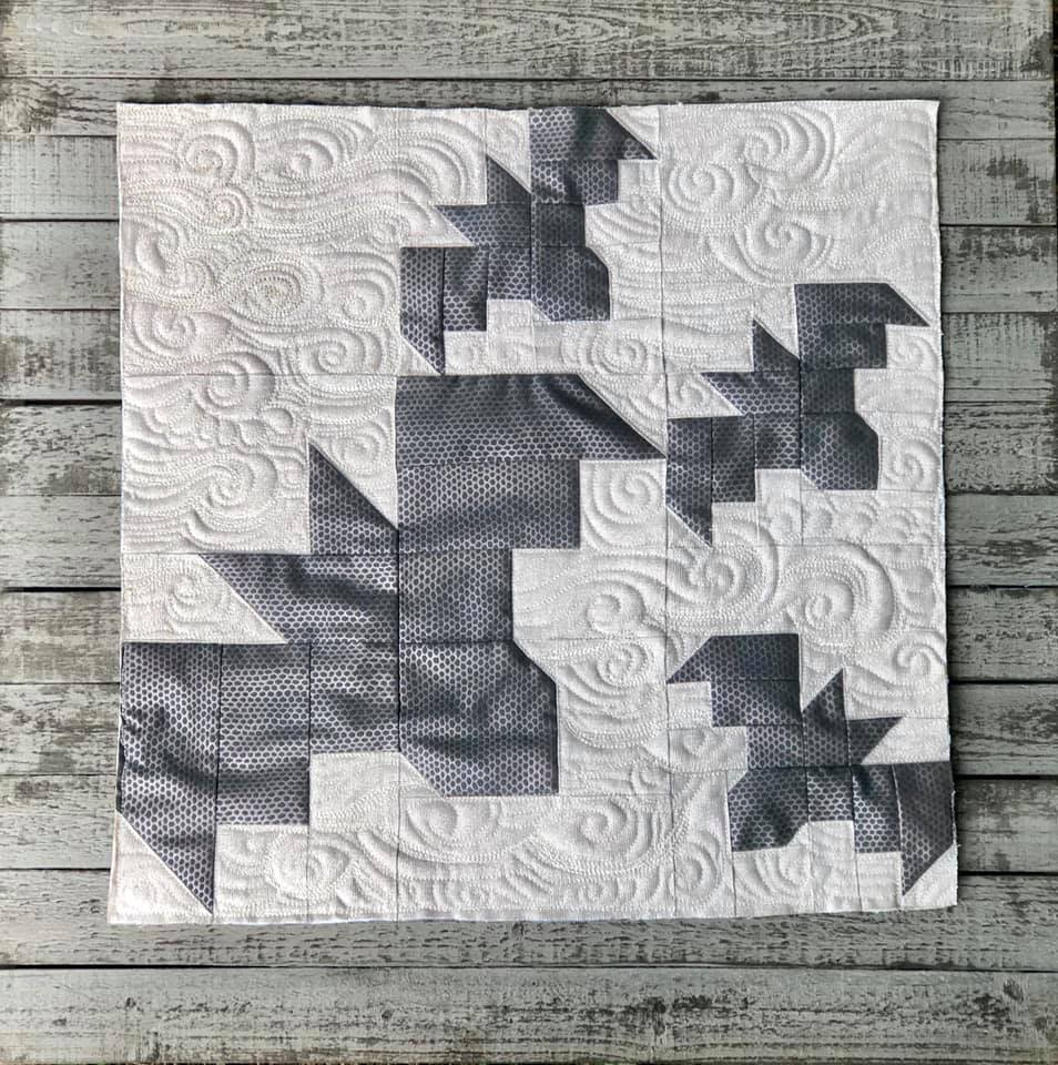 Bat quilt pattern
