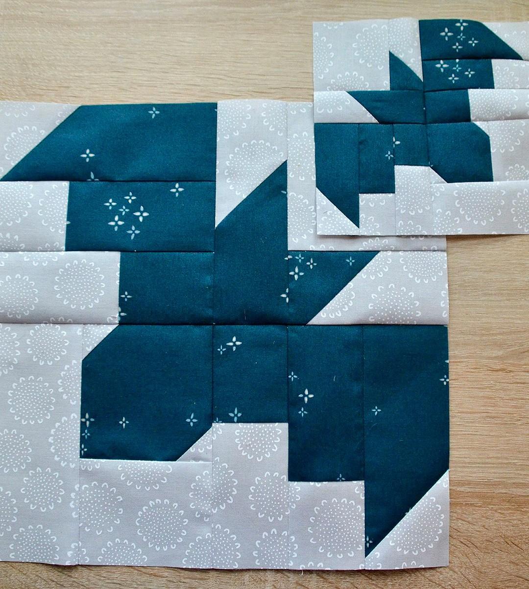 Bat quilt blocks
