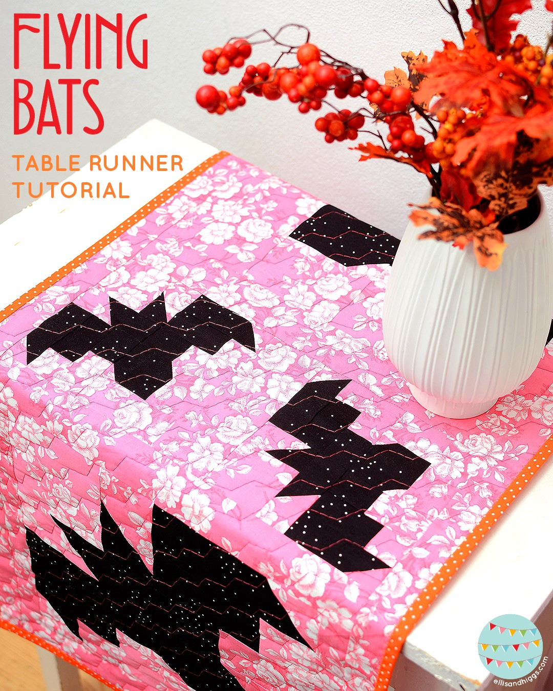 Bat Table Runner