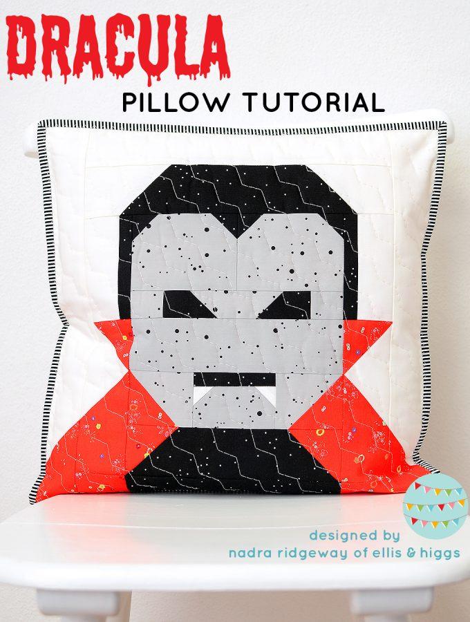 Dracula Pillow Pattern
