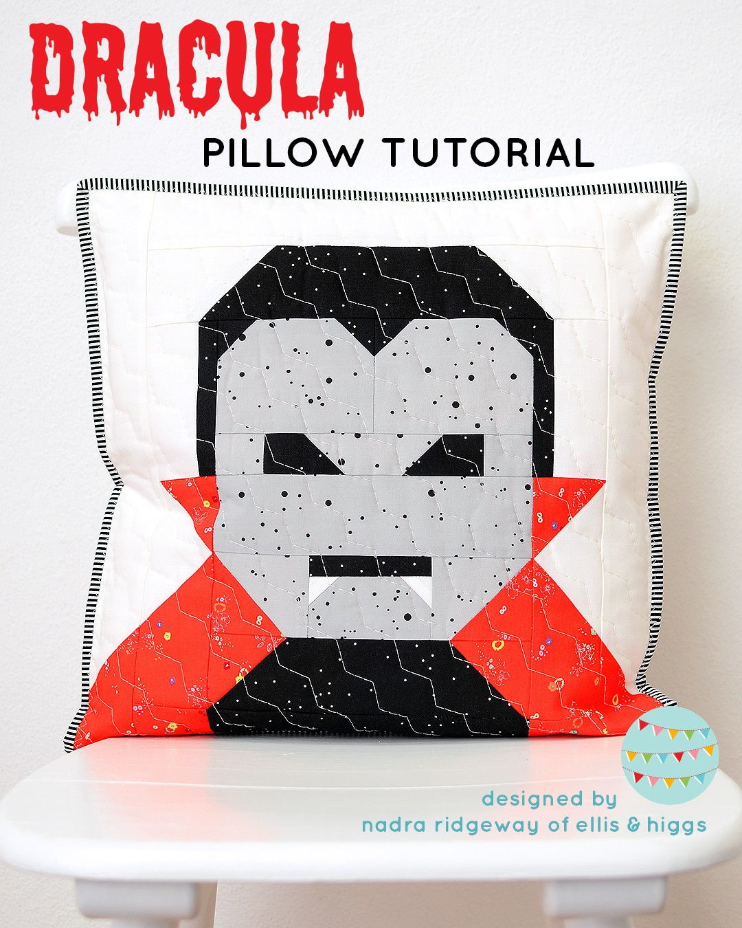 Dracula Pillow Pattern