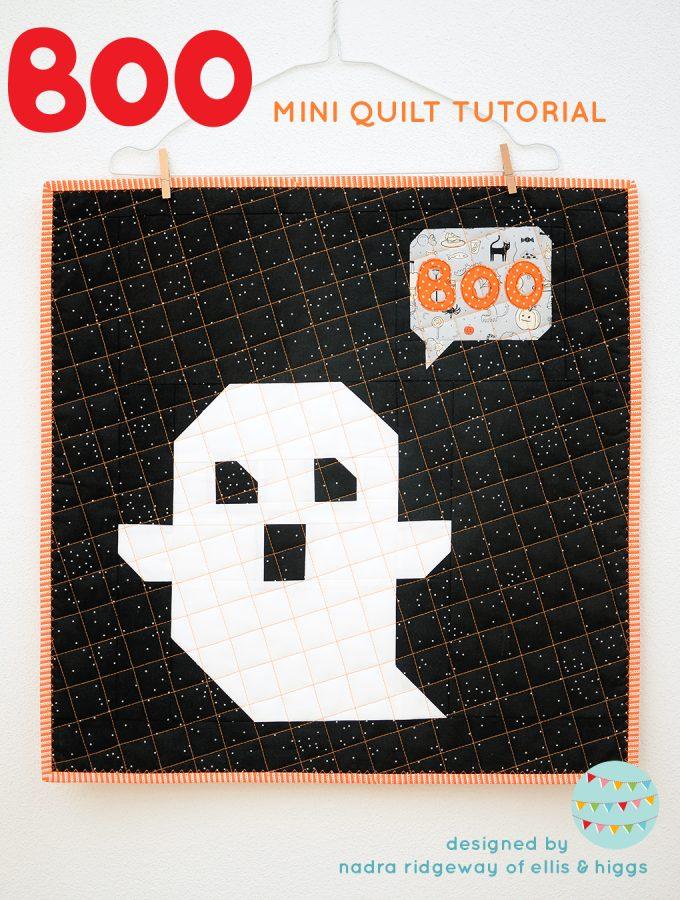 Ghost Mini Quilt