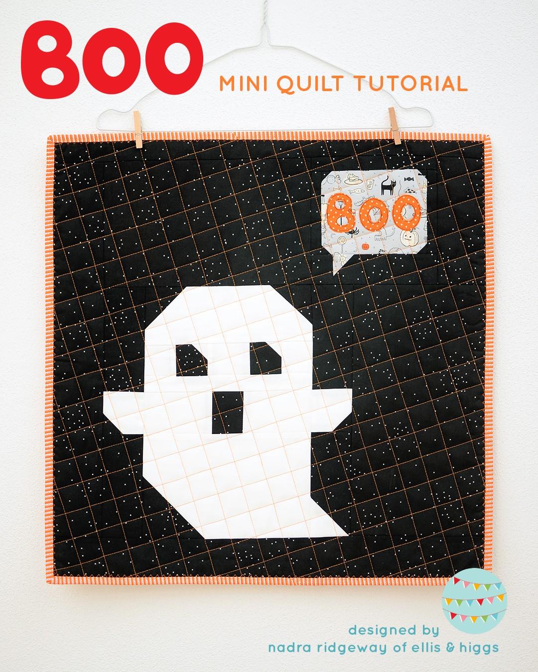 Boo Mini Quilt