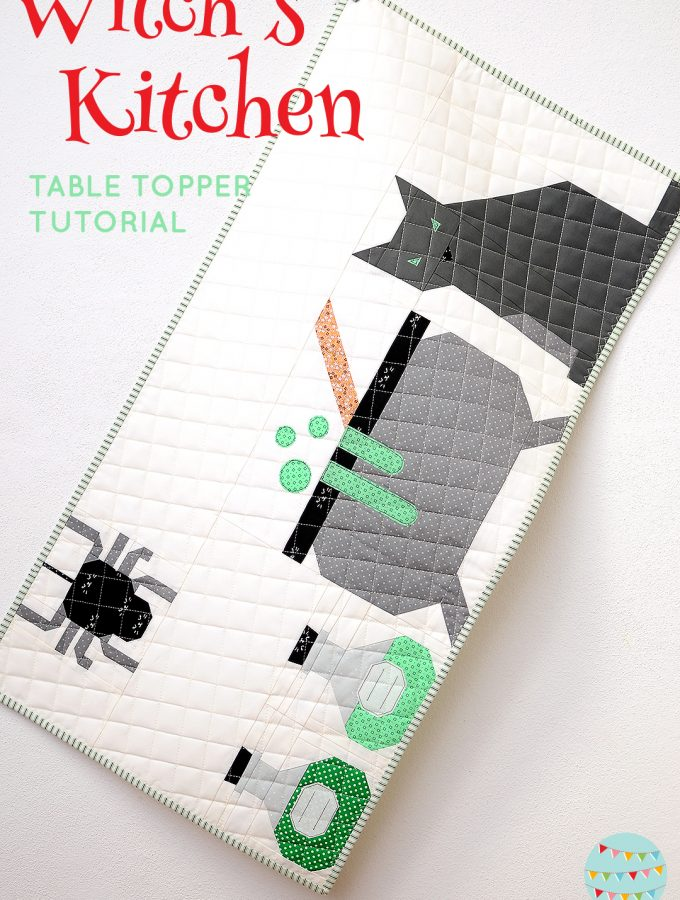 Witch's Kitchen Table Topper