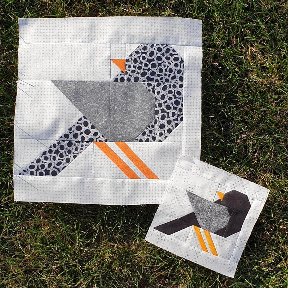 Bird quilt blocks