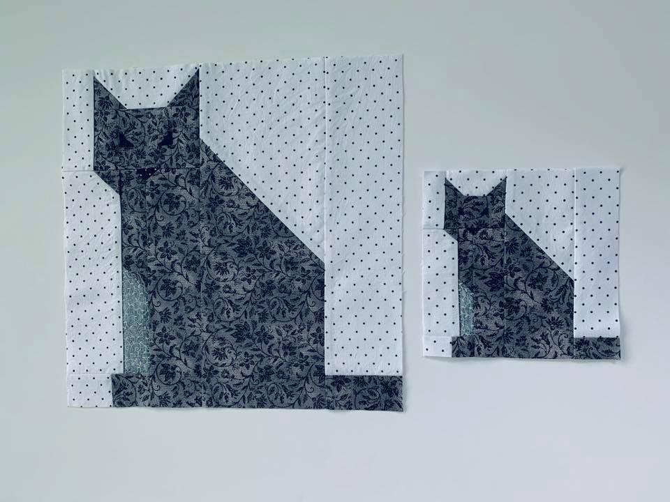 Cat quilt blocks