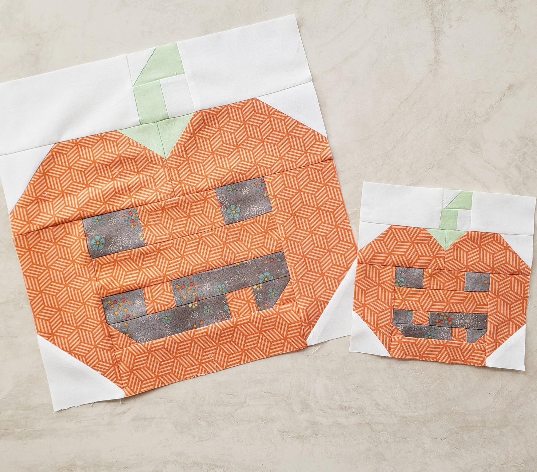 Pumpkin quilt patterns