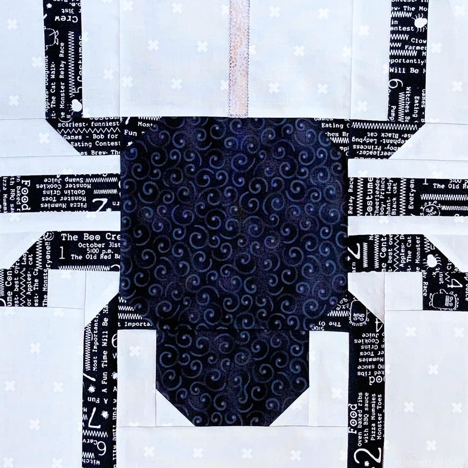 Spider quilt block