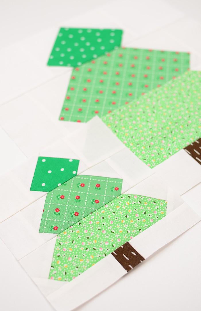 Christmas Tree quilt blocks