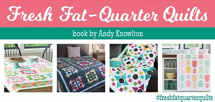 Fresh Fat Quarter Quilts Book Tour Banner