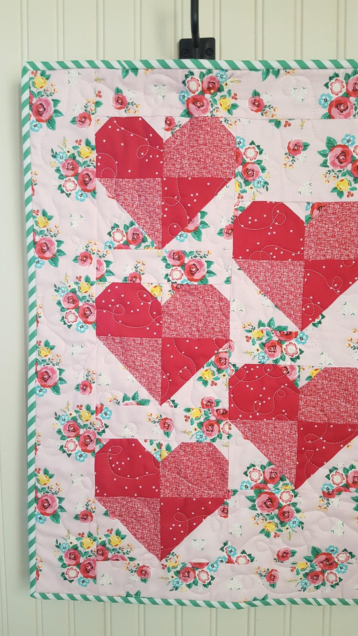 Heart Mini Quilt