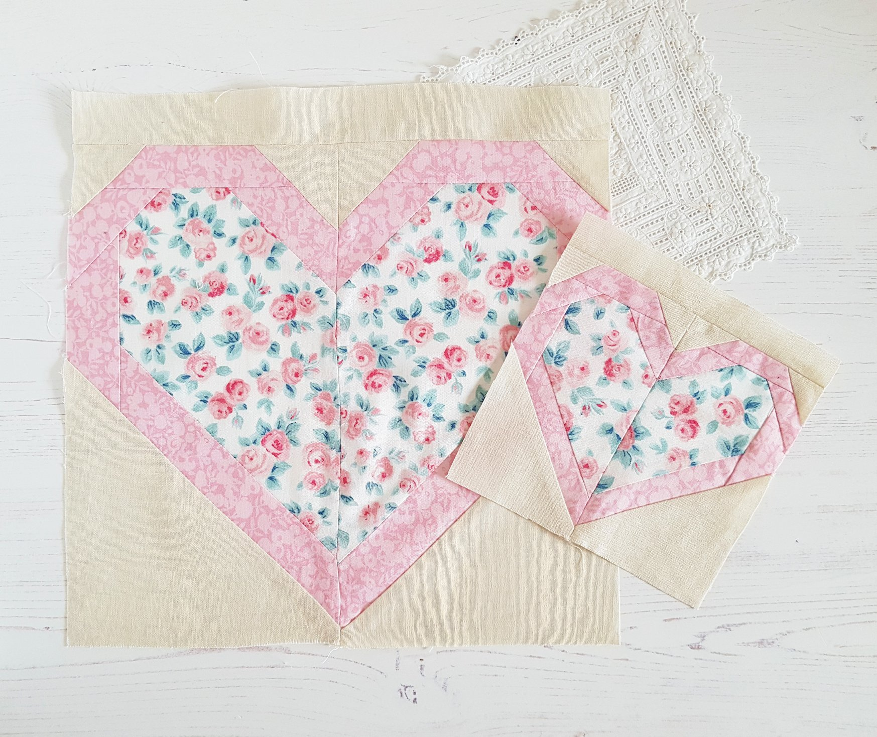Heart Quilt Blocks