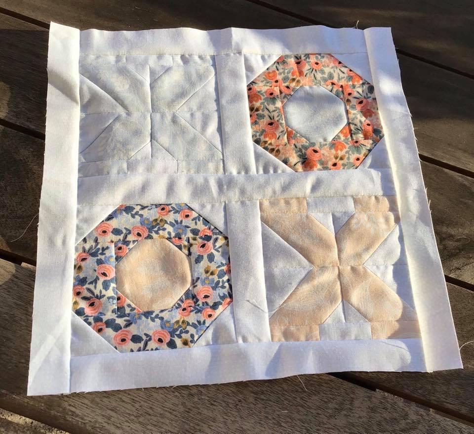 XOXO Mini Quilt Top