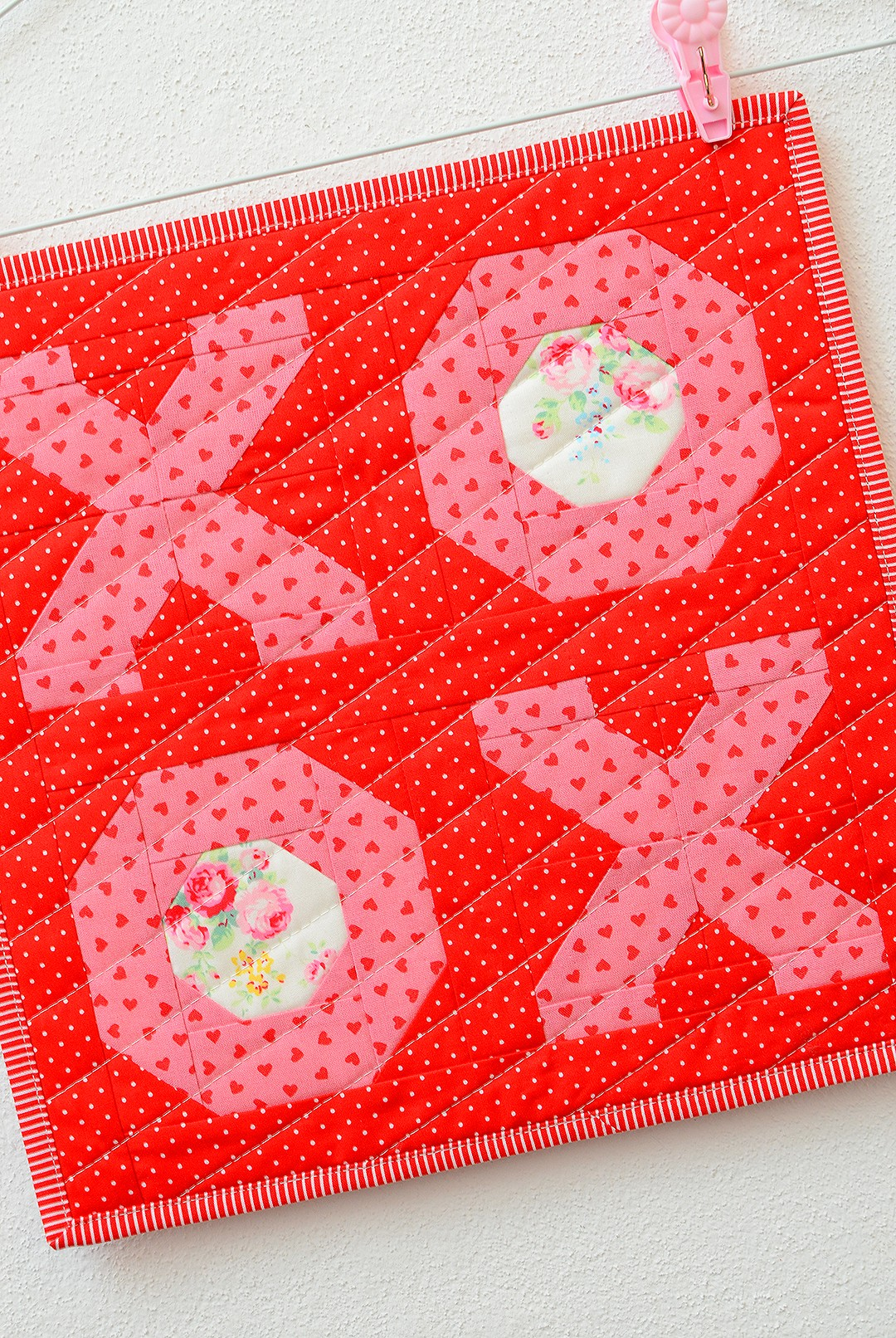 XOXO Mini Quilt Pattern