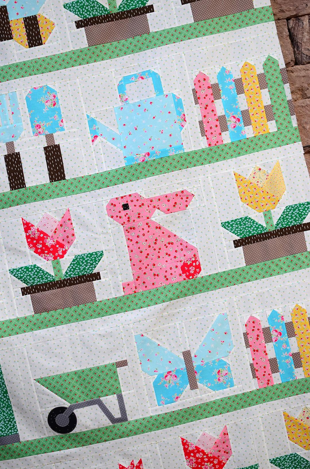 Country Garden quilt pattern
