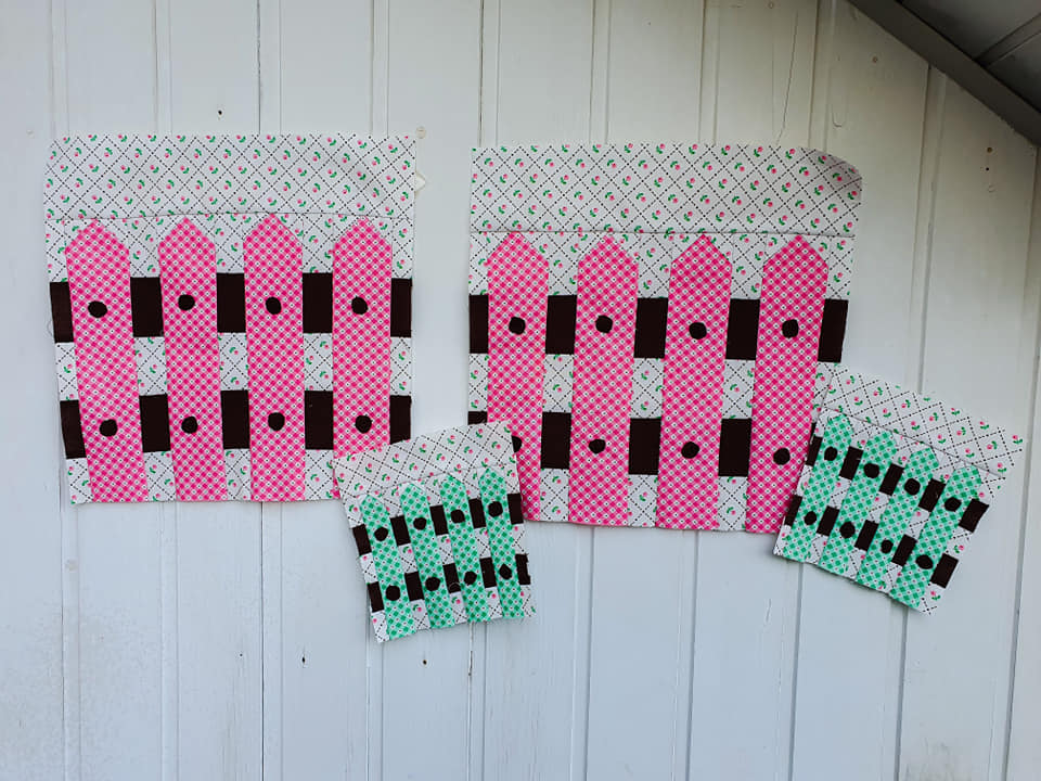 Fence quilt qattern