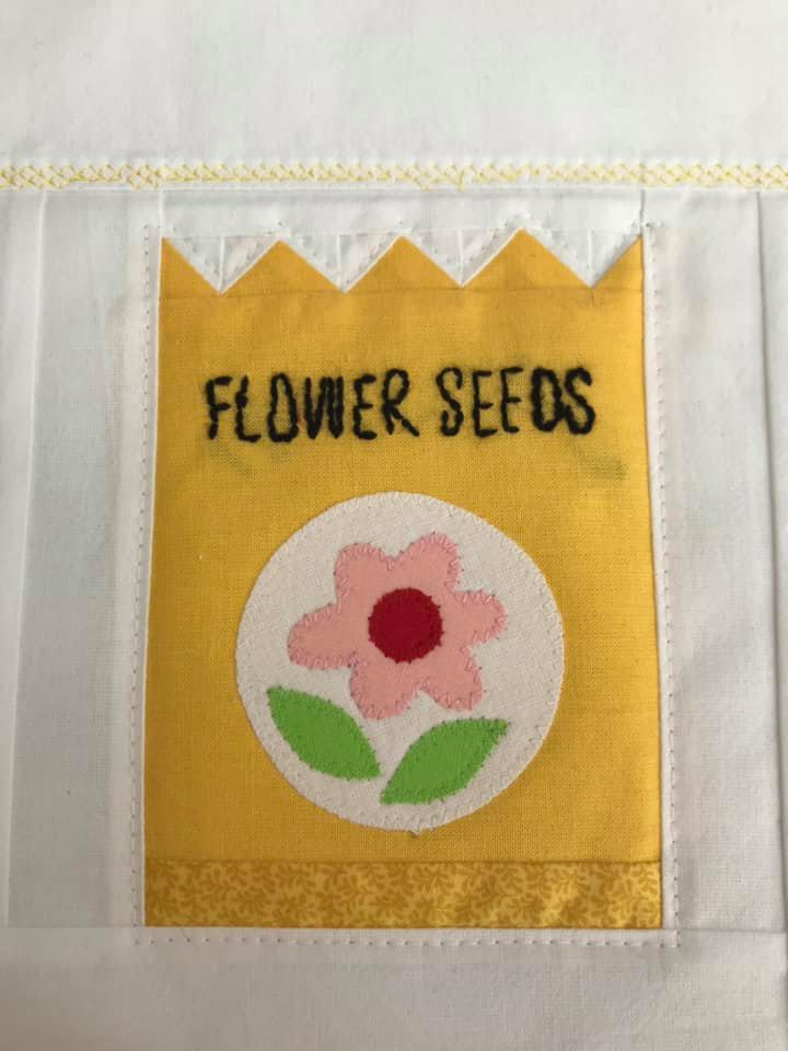 Flower Seeds quilt qattern