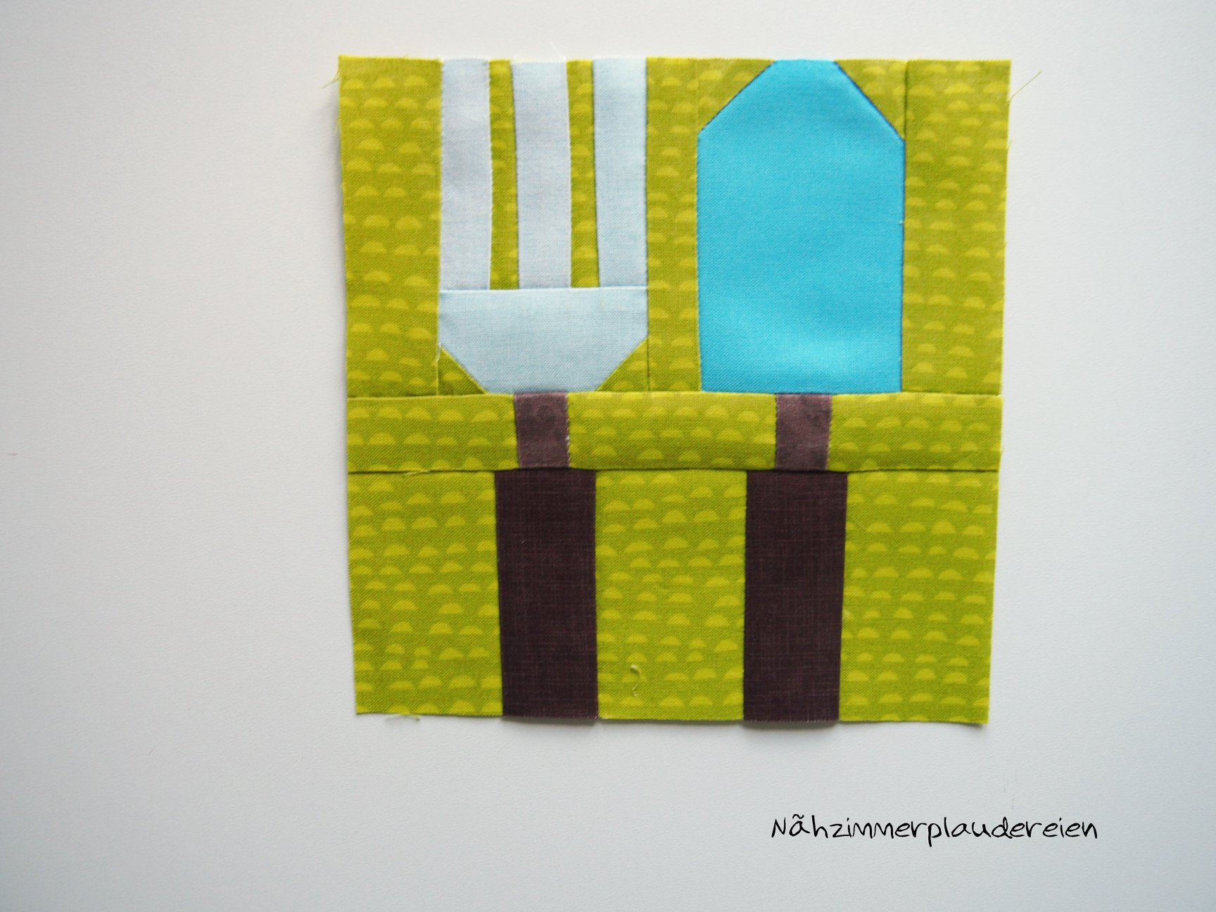 Fork & Trowel quilt pattern