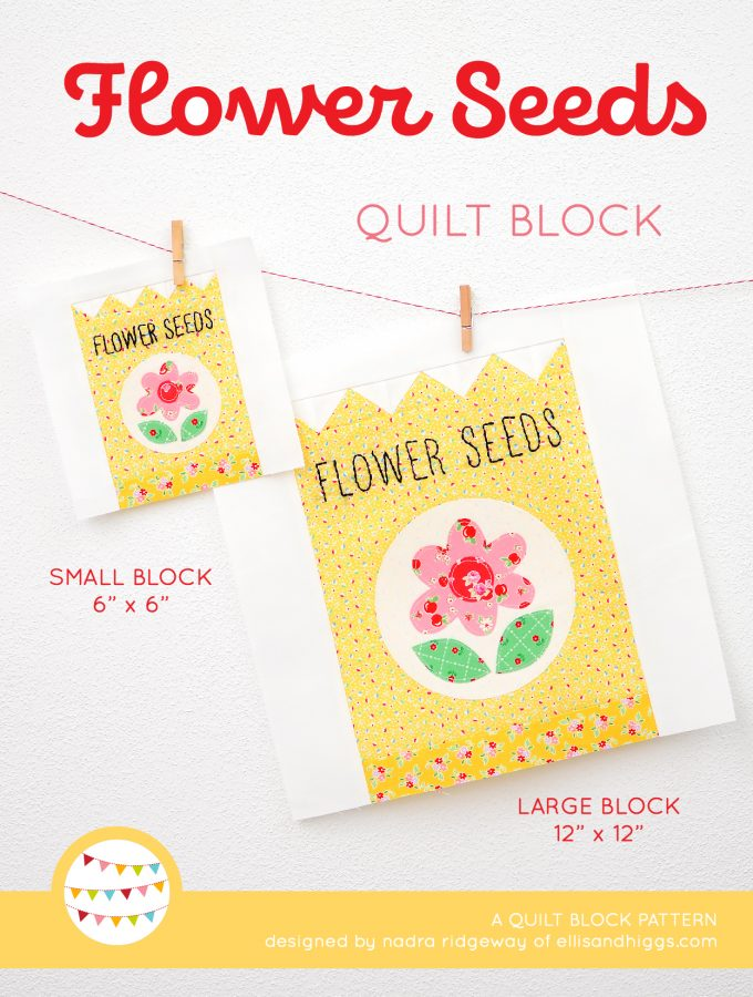 Flower Seeds quilt blocks